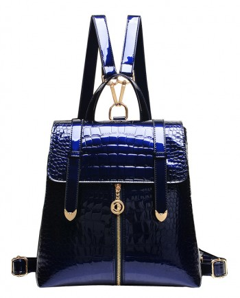 Blue Leather PU Bag for Women in India
