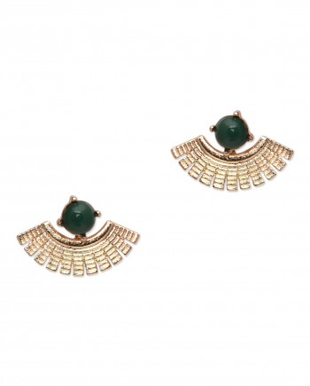 green earring jaceket