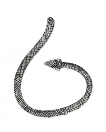 femnmas silver snake earuff