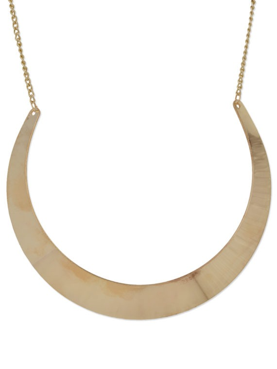 femnmas gold plated necklace