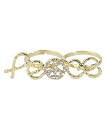 FemNmas Peace symbol ring