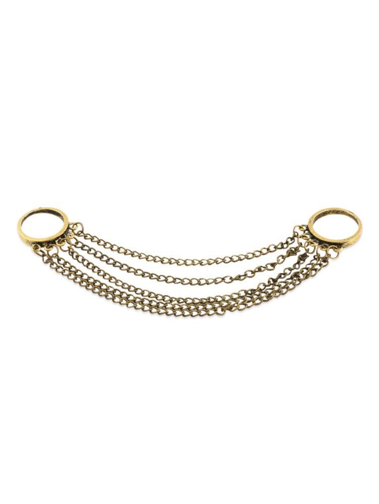 FemNmas Double Tassel Ring