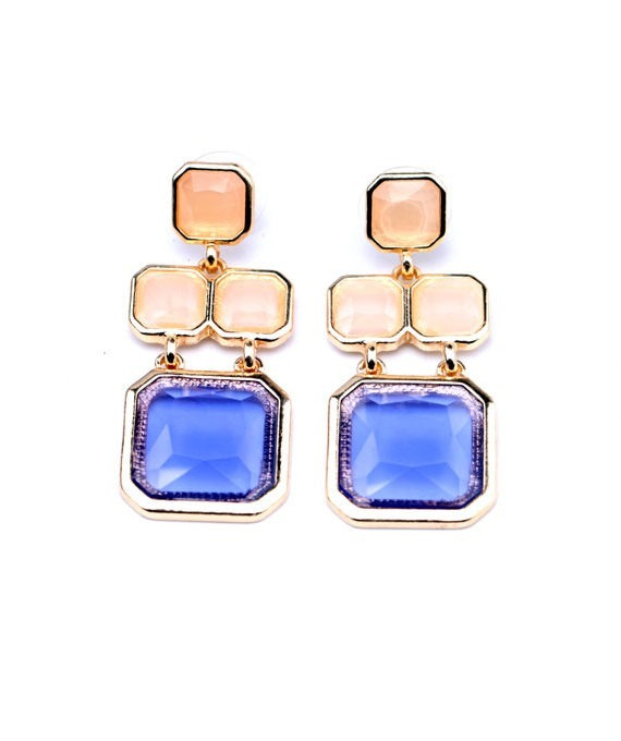 Luxury stone earrings in india