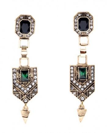 femluxe stone earrings