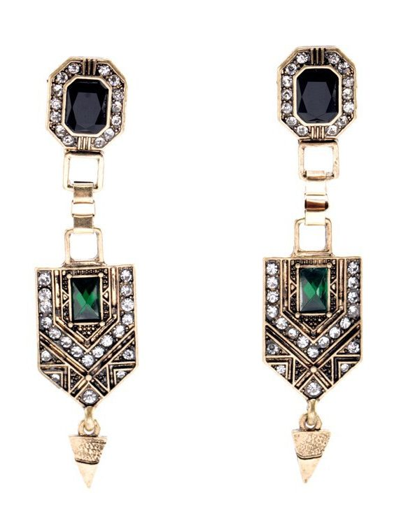 femluxe stone earrings