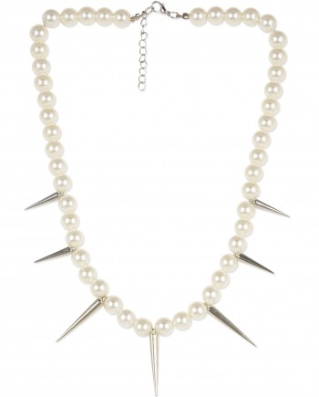 pearl spike necklace india