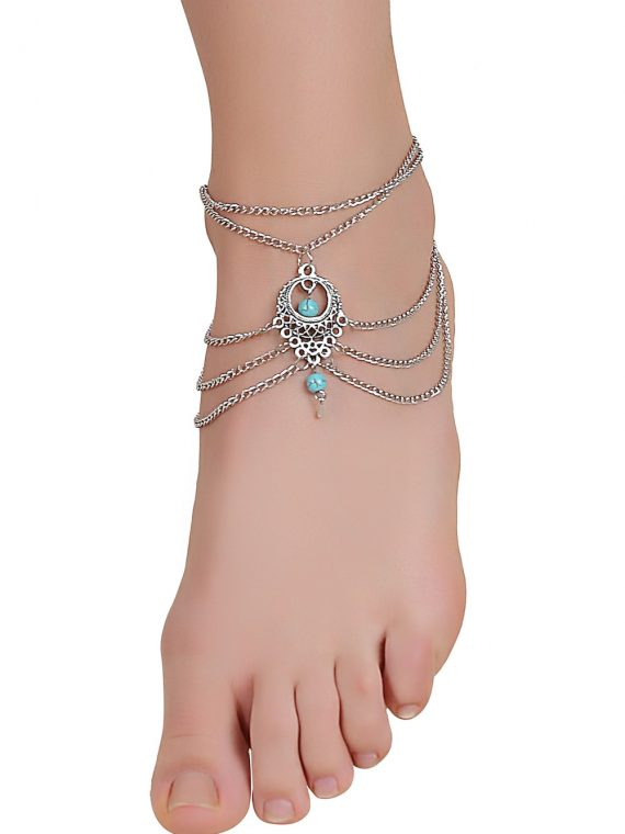 Buy Gemstone Anklet Online in India