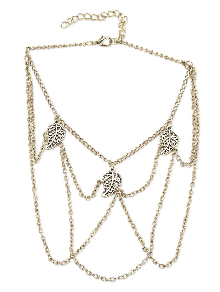 Leaf Arm Band Jewelry