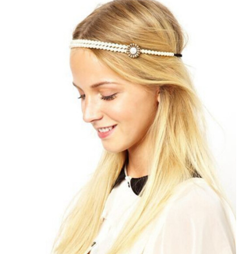 Pearl Hair Jewelry For Girls