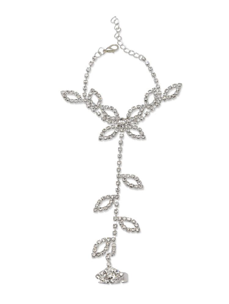 Leaf Floral Bracelet For Girls