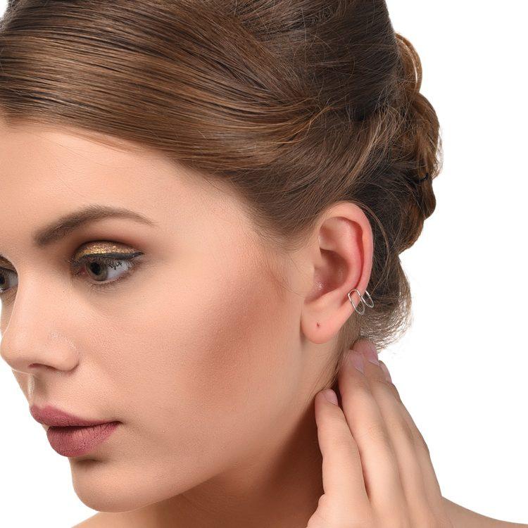 U Shape Non pierced Earrings For Women