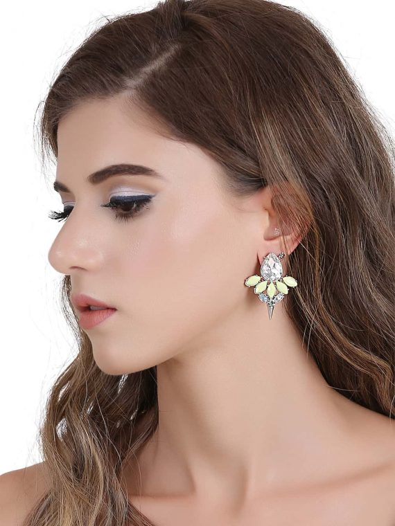Yellow Earrings Online in India