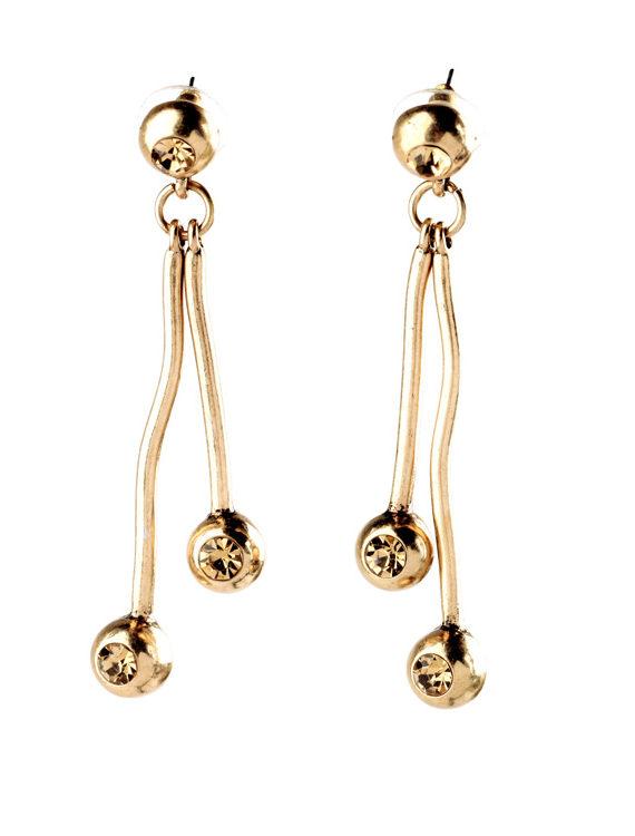Wire Drop Earrings For Girls