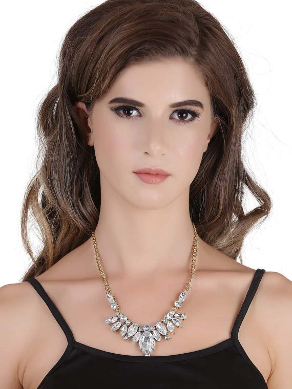 Buy Zircon Fashion Necklace in India
