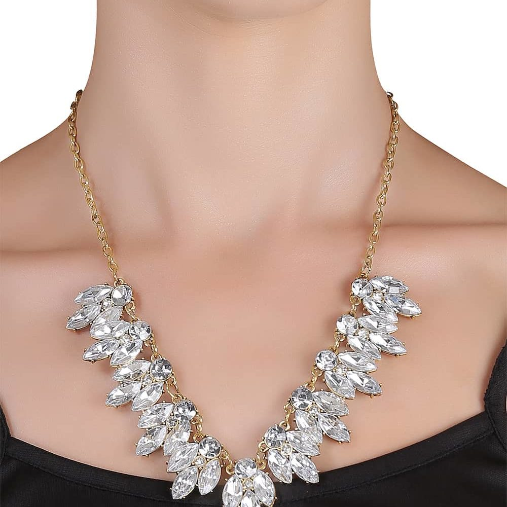 Rhinestone Necklace In India