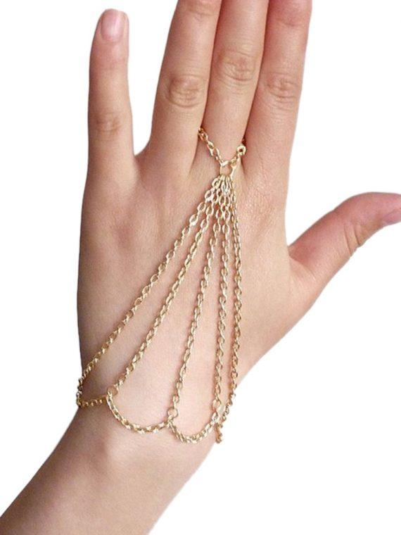 Multi Chain Designer Bracelet