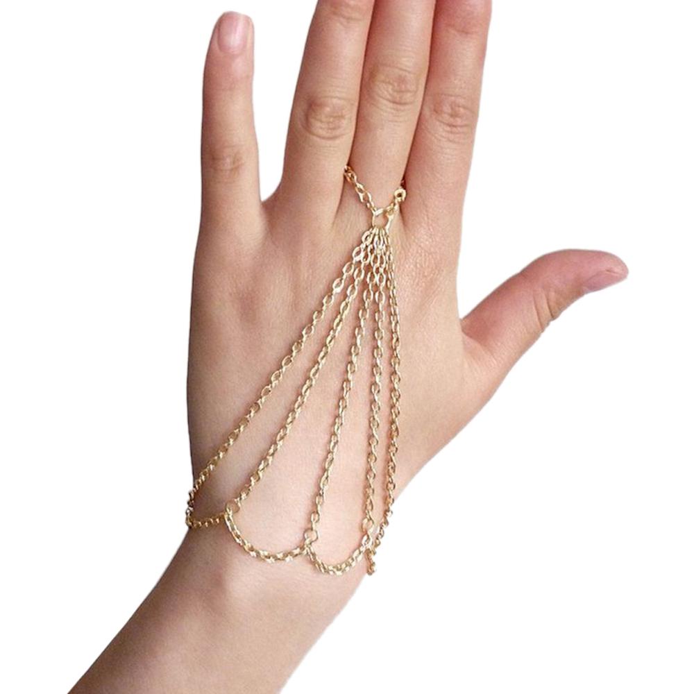 6c6ec75492 Buy Multi Chain Celebrity Ring Bracelet Online India