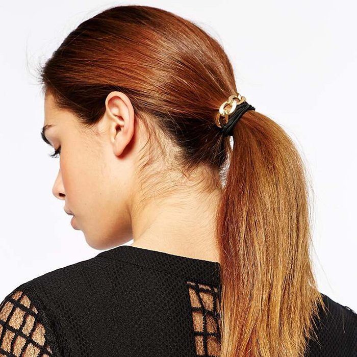 Metal Chain Hair Clip