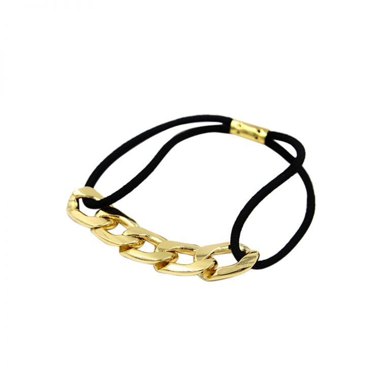Golden Chain Hair Band From Femnmas