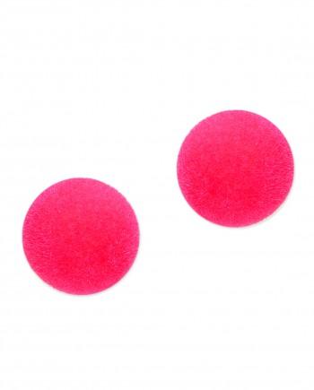 femnmas dark pink earrings