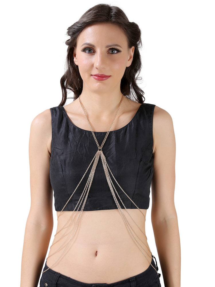 Buy Multi Chain Body Jewellery In India