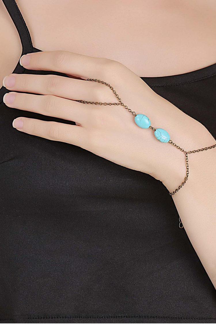 Buy Bracelet With Ring Online in India