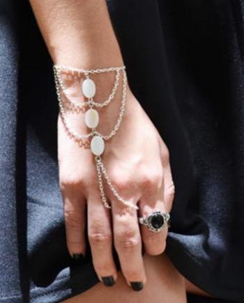 Boho Chic Ring Bracelet