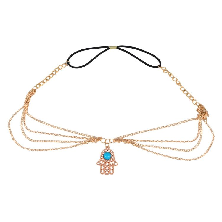 Hand Designer Head Chain For Women