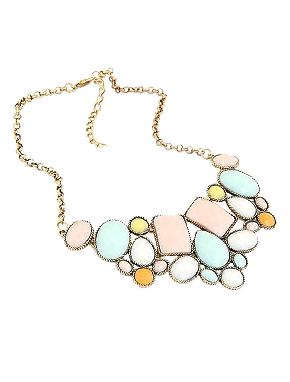 Multi Stone Necklace India