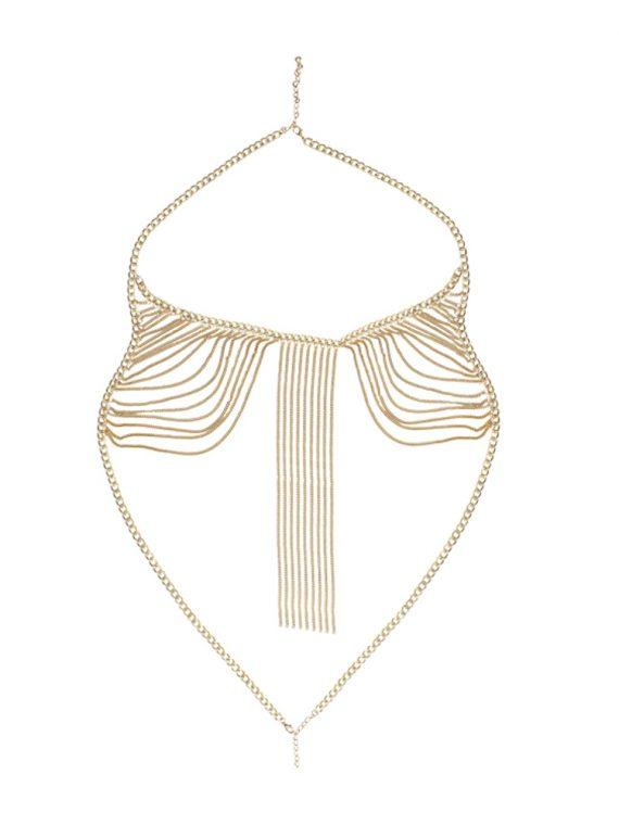 Multi Chain Bra Jewellery By Femnmas