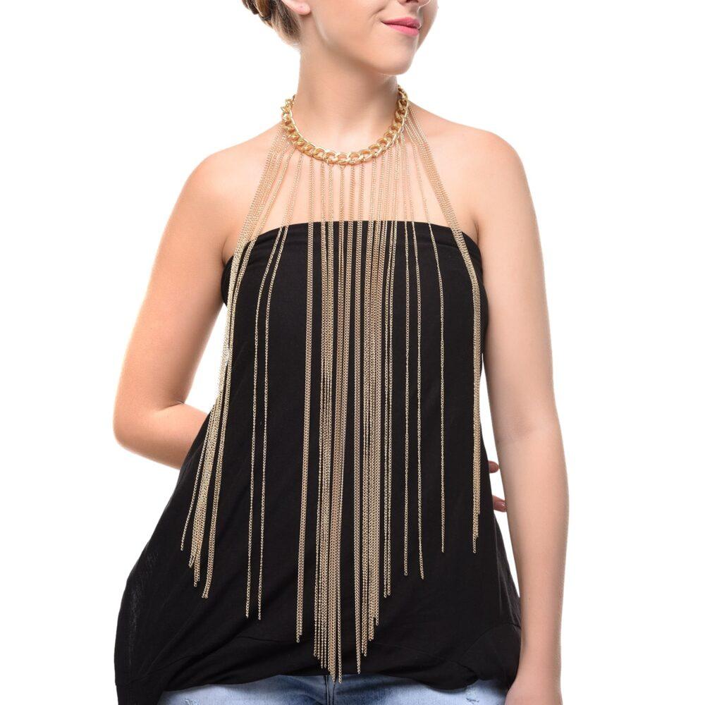Party Designer Body Chain For Women