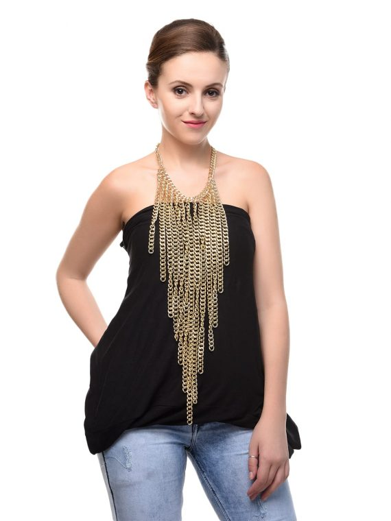 Multi chain Party Body Long Necklace For Women