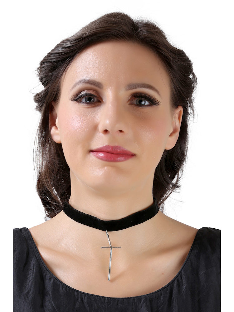 Buy Cross Choker Necklace