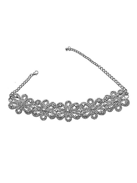 Zircon Fashion Choker Necklace India