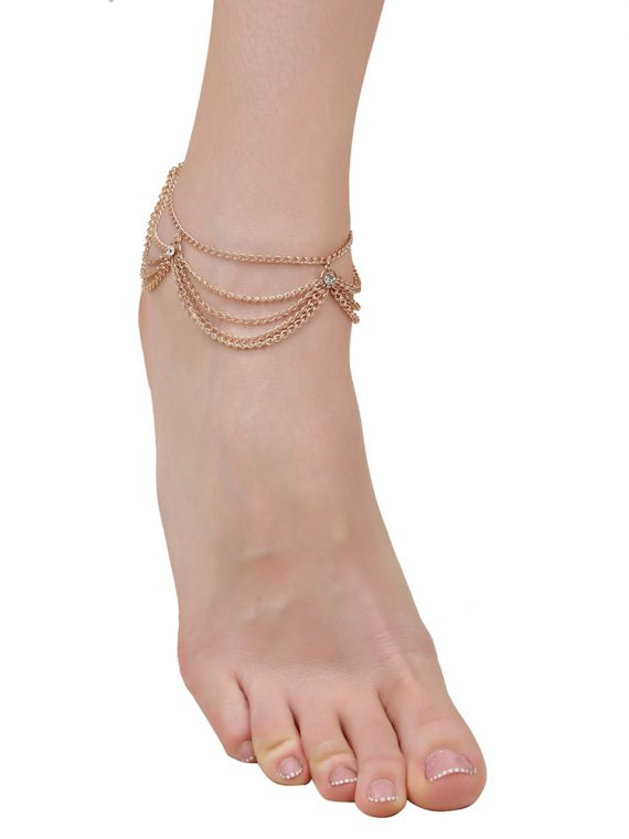 Buy Multi Chain Anklet