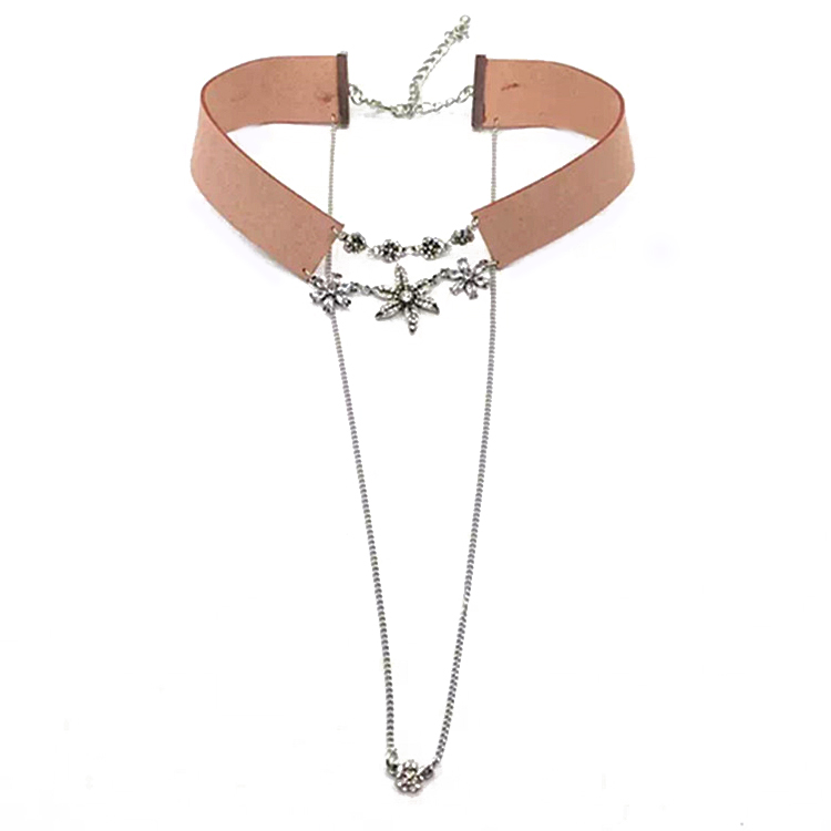 Pink Dual Statement Necklace