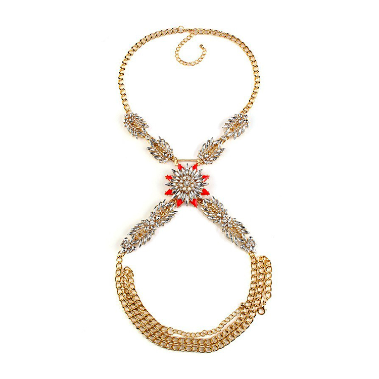 Shop Necklace Body Chain