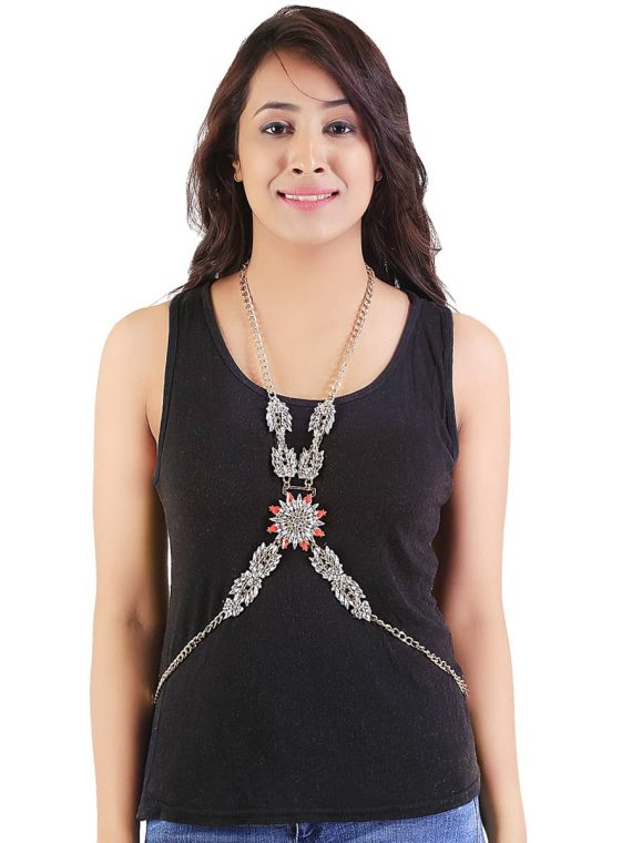 Designer Zircon Body Chains in India