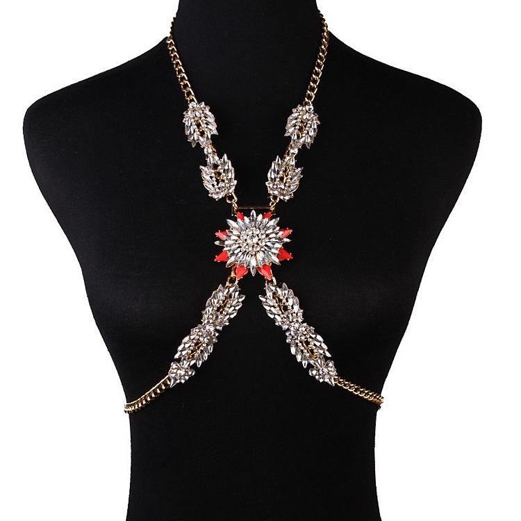 Buy Gemstone Body Chain