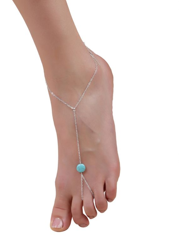 Buy Toe Ring Chain Anklet Online