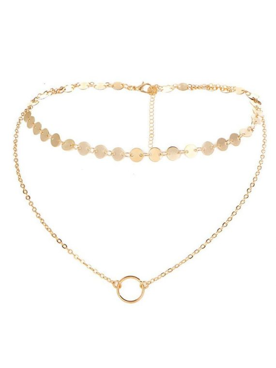 Buy Layered Choker Necklace Online in India