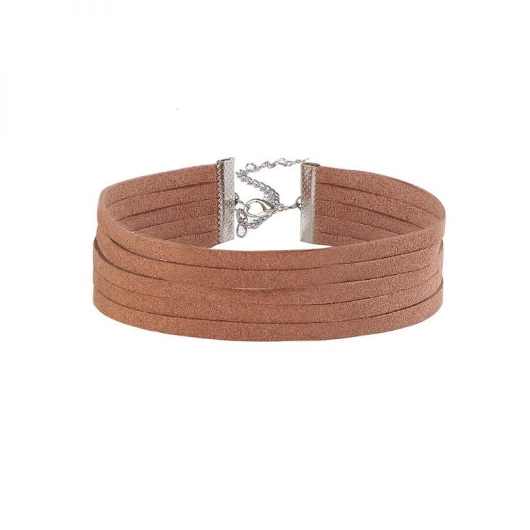 Buy Brown Rope Choker Necklace Online in India