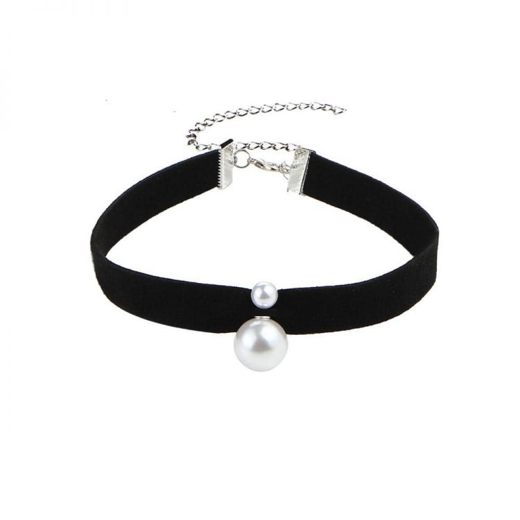 Buy Dual Pearl Choker Necklace Online in India