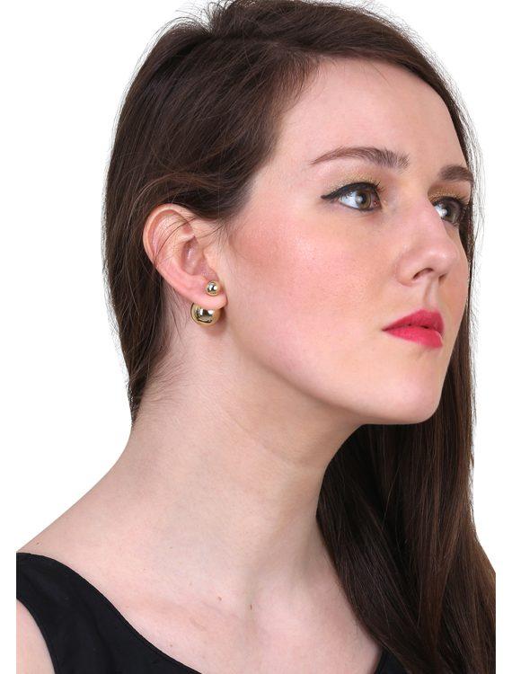 Buy Golden Pearl Earrings Online