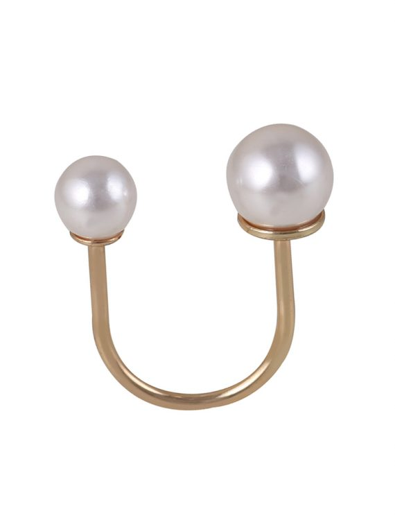 Buy Double Sided Fashion Pearl Ring