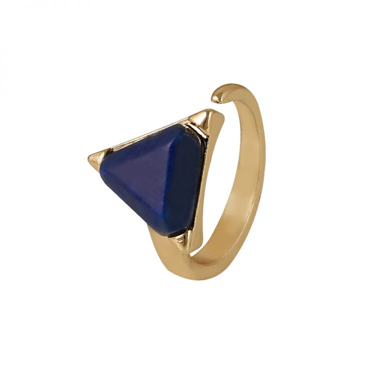 Buy Blue Gemstone Fashion Ring In India