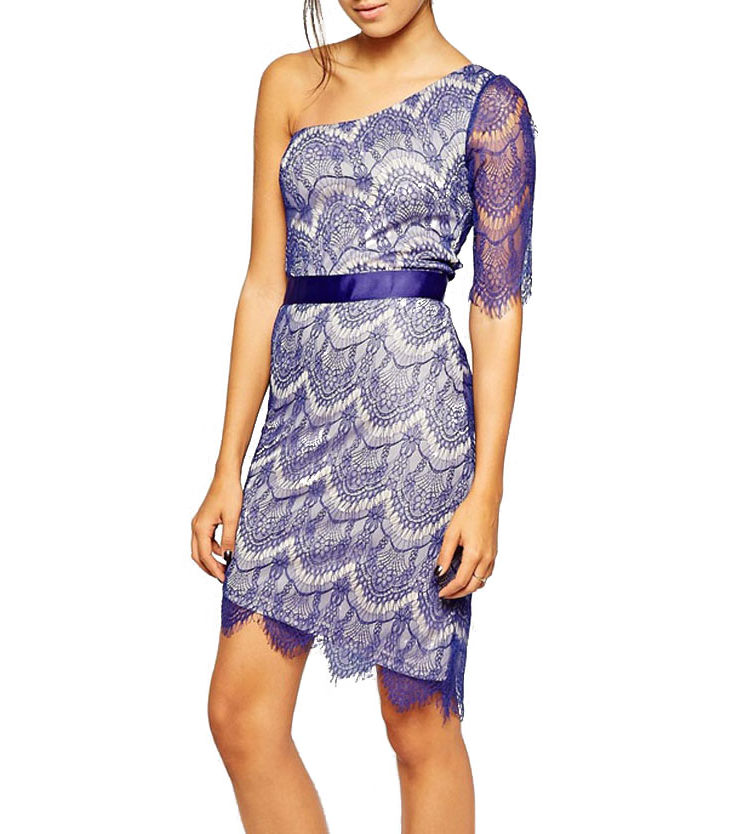 Buy One Shoulder Party Dress Online in India