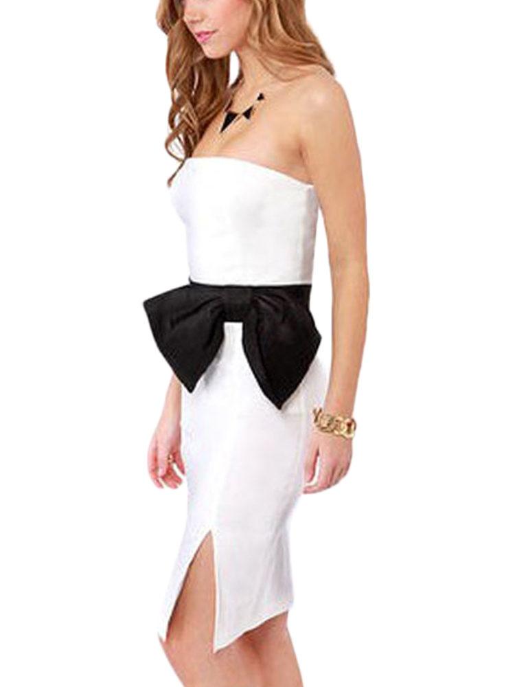 Buy Tube White Dress For women