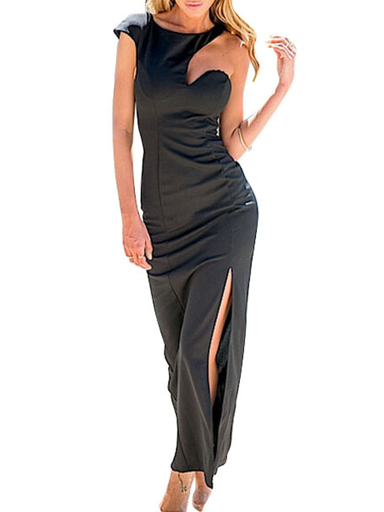 Buy Black Off shoulder Party Dress In India