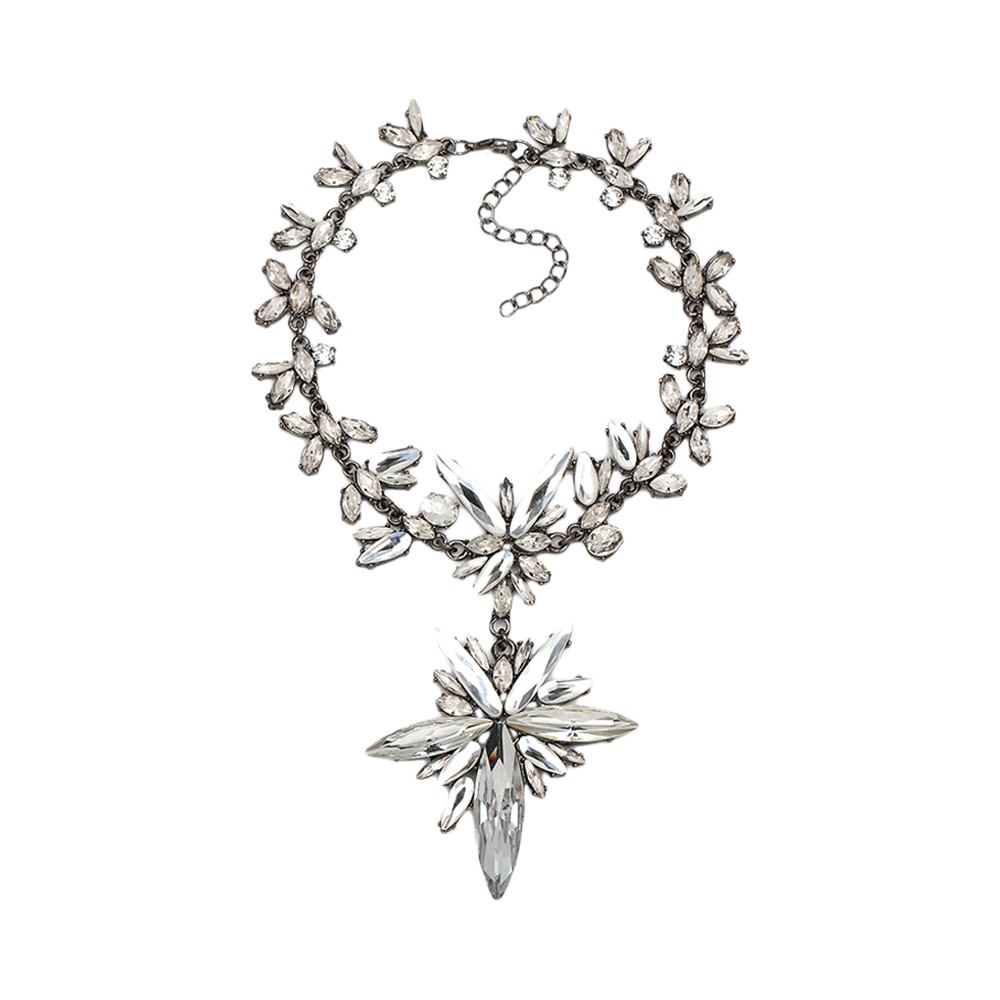 Leaf Statement Choker Necklace India